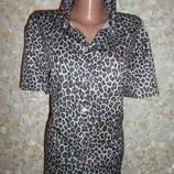 Блузка Леопардовая Фирменная Р.60