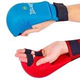 Перчатки для карате накладки карате Zel 4007 2 цвета, L/XL