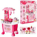 Кухня детская кухня дитяча звуковые, световые эффекты,31 предмет