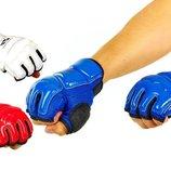 Перчатки для тхэквондо с фиксатором запястья защита кисти WTF 2016 XS/S/XL