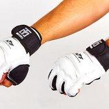 Перчатки для тхэквондо с фиксатором запястья защита кисти Mooto 5078 S-XL