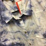 вареная рубашка блуза Pimkie оригинал р.L ,без рукавов