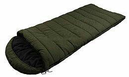 Спальный мешок, спальник, с капюшоном, туристический, рыбацкий, кемпинговый, теплый, зимний, до -30