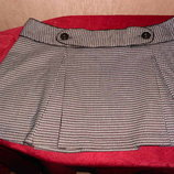 Красивая французская мини-юбка Le grenier. Фр.14, наш 48-52 размер.