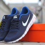 Кроссовки Nike Free Run 5.0 blue white 41р