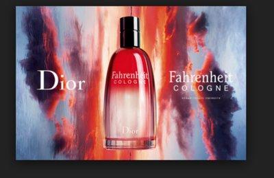 Christian Dior Fahrenheit Cologne тестер Новинка