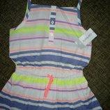 туника Carter s,футболка,маечка девочке 5-6 лет, 110, 116, 122 см
