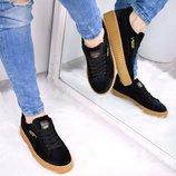 Женские черные кроссовки PUMA