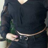Кофта,блуза открытая спинка Шифон Rainbow 48-50р L-Xl