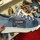 Ersax джинсовые новые кроссовки 36, 37,38,39,40 Киев