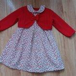 Нарядне платтячко з болеро для принцеси 1-2р.