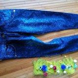Нові джинси для дівчинки