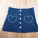 Стильна джинсова юбка H&M 1.5-2 р.