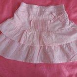 Літня спідничка для маленької модниці 6-12м. 68-74см