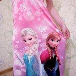 Шикарный сарафан Дисней 125-150см Frozen Эльза и Анна Frozen замороженные холодное сердце