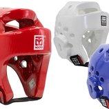 Шлем для тхэквондо Mooto 5094 шлем защитный для тхэквондо , 3 цвета размер S/M/L/XL