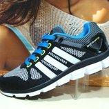 Кроссовки мужские Adidas ClimaCool черн.белый 41р-45р