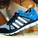 Кроссовки мужские Adidas ClimaCool синий 41р-45р