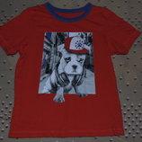 футболка 6 - 7 лет хлопок мальчику