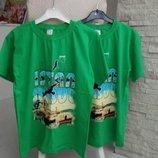 Каттоновые футболочки на мальчиков 12,14 лет 10-12