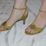 Босоніжки шкіряні Sally O'hara розмір 39 40, босоножки кожа