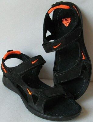 продам новые качественные сандалии Nike копия удобная мужская обувь Найк кожа