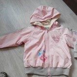 Фирменная ветровка куртка курточка для девочки 3-4 г