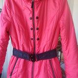 Куртка демисезон на 46 размер L двусторонняя