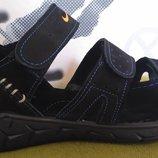 Nike кожаные мужские сандалии 3 полоски сандали босоножки обувь лето комфорт удобство