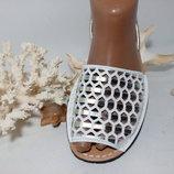 Золотистые менорки тм Avarca 3 Натуральная мягкая кожа. Испания