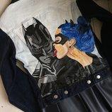 by koko4ka Ручная Роспись джинсовка джинсовая куртка с принтом рисунком стильно креативно