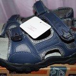 Босоножки, сандалии для мальчика, темно-синие, новые, 36,38 р.
