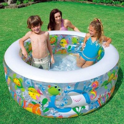 Детский бассейн Intex 58480 аквариум