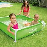 Каркасный бассейн прямоугольный Intex 57172