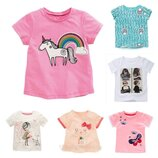 Яркие красивые футболки для девочки в наличии , детские футболки, промо