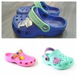 Кроксы крокси сабо для мальчика девочки хлопчика дівчинки Jose Amorales Украина пляжная обувь