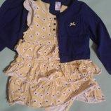 Комплект Carters нарядный для девочки 24мес