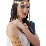 Карнавал Набор Клеопатра Головной Убор и Браслет