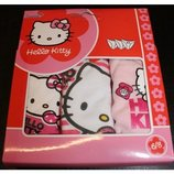 Набор трусиков Hello Kitty из Англии 2-3,4-5, 6-8 лет