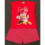 Классные домашние костюмчики на лето от Disney из Англии 18-24мес, 2-3 года