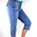 суперКАПРИ джинсовые 26-32 размеры