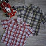 Отличные фирменные рубашки REbel jnr р 104 см Хлопок