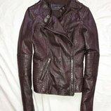 Куртка косуха кожаная next 12размер