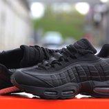 Кроссовки Nike Air Max 95 black 36-41р