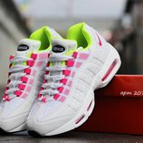Кроссовки женские Nike Air Max 95 White pink