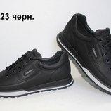 Кожаные мужские спортивные туфли Clubshoes