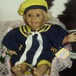 коллекционная характерная кукла без клейма из Германии винтаж 40 см