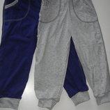 Штаны без начеса с карманами