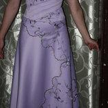 Сиреневое платье на выпускной или свадьбу
