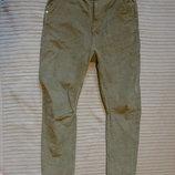 Оригинальные вельветовые джинсы с низкой слонкой Adidas Neo Label 29/32 р.